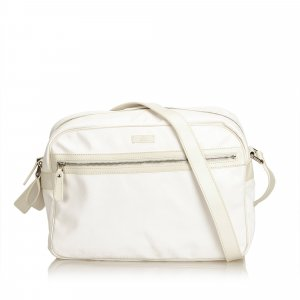 Gucci Crossbody bag white polyvinyl chloride