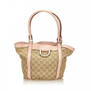 Gucci Guccissima D Ring Tote Bag