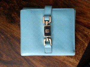 Gucci Guccissima Geldbörse Geldbeutel Vintage blau mint türkis