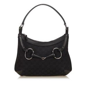 Gucci Guccissima Horsebit Hobo Bag