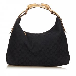 Gucci Guccissima Horsebit Shoulder Bag