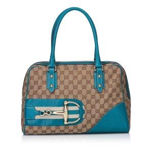 Gucci Guccissima Horsebit Shoulder Bag