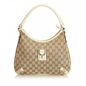 Gucci Guccissima Jacquard Abbey Hobo Bag