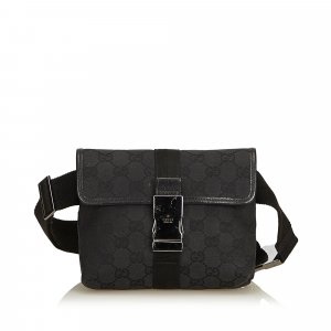 Gucci Guccissima Jacquard Belt Bag