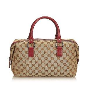 Gucci Guccissima Jacquard Boston Bag