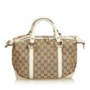 Gucci Guccissima Jacquard Boston Bag