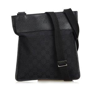 Gucci Gekruiste tas zwart