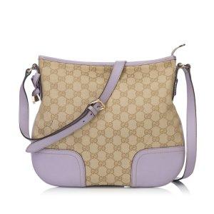 Gucci Guccissima Jacquard Crossbody Bag
