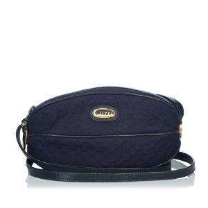 Gucci Gekruiste tas blauw