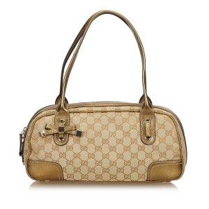 Gucci Guccissima Jacquard Princy Boston Bag