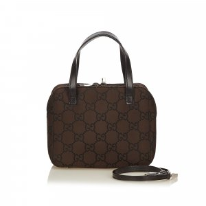 Gucci Satchel dark brown