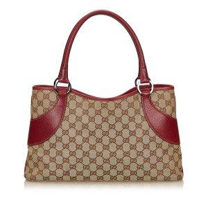 Gucci Borsa larga marrone