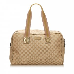 Gucci Guccissima Jacquard Travel Bag