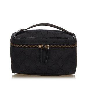 Gucci Borsa porta trucco nero