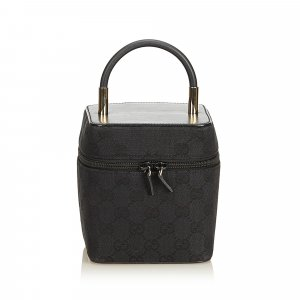 Gucci Guccissima Jacquard Vanity Bag