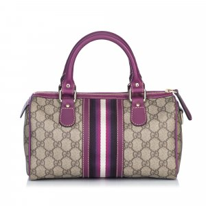 Gucci Guccissima Joy Small Boston Bag