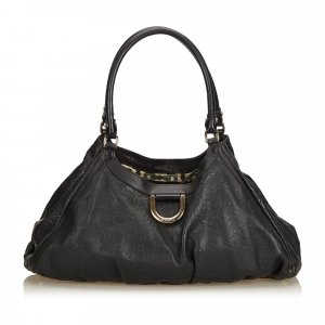 Gucci Guccissima Leather Abbey D-Ring Shoulder Bag