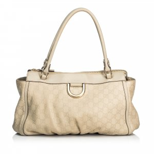 Gucci Guccissima Leather Abbey Shoulder Bag