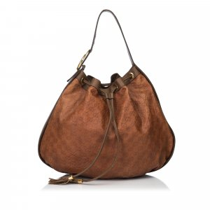 Gucci Guccissima Leather Interlocking Icon Hobo