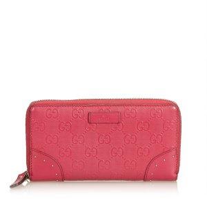 Gucci Portefeuille rosé chlorofibre
