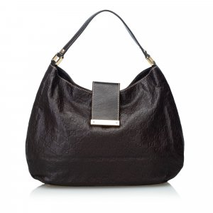 Gucci Guccissima Leather New Ladies Hobo Bag