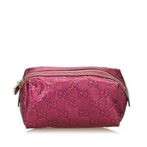 Gucci Borsellino rosa pallido Pelle