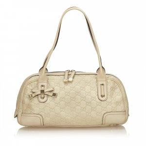 Gucci Guccissima Leather Princy Shoulder Bag