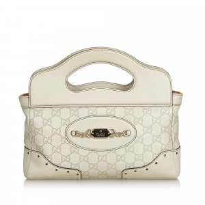 Gucci Guccissima Leather Punch Handbag