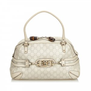 Gucci Guccissima Leather Wave Handbag