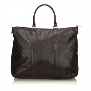 Gucci Guccissima Leather Weekender