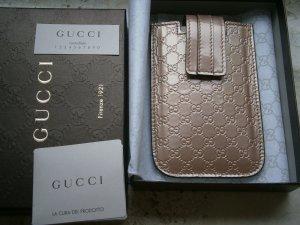 Gucci Guccissima Leder Iphone Handytasche, tasche, Rosa