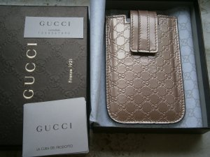 Gucci Mobile Phone Case beige leather