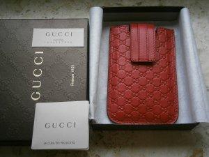 Gucci Guccissima Leder Iphone Handytasche, tasche, Rot