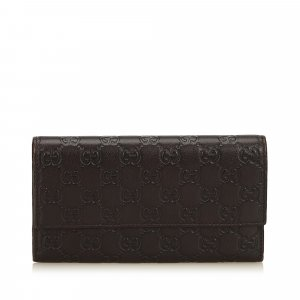 Gucci Guccissima Long Wallet