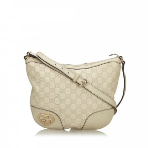 Gucci Guccissima Lovely Crossbody Bag
