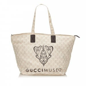 Gucci Guccissima Museo Shoulder Bag