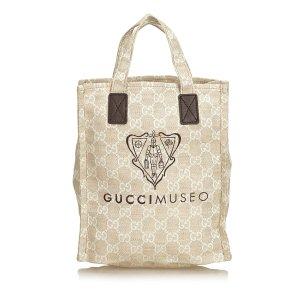 Gucci Guccissima Museo Tote Bag