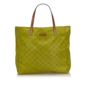 Gucci Guccissima Nylon Tote Bag