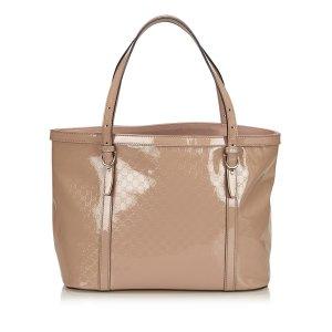 Gucci Bolso de compra rosa Imitación de cuero