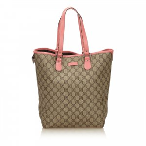 Gucci Tote green polyvinyl chloride
