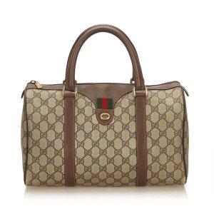 Gucci Handtas beige