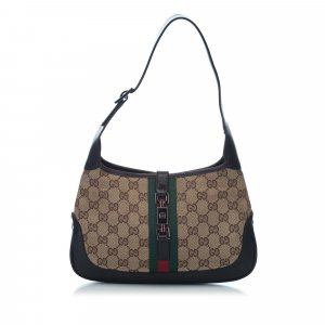 Gucci Guccissima Web Canvas Jackie Hobo