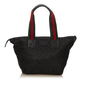 Gucci Tote zwart Nylon