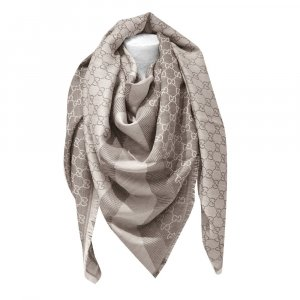 Gucci Kerchief beige wool