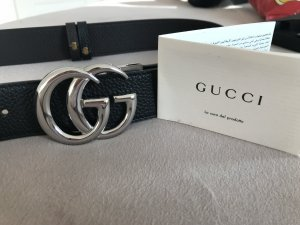Gucci Belt black-silver-colored