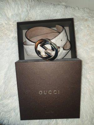 Gucci Boucle de ceinture beige clair