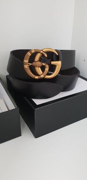 Gucci Gürtel aus Leder mit GG Schlange
