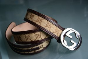 Gucci Hip Belt multicolored leather