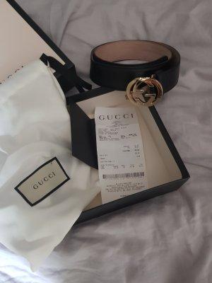 Gucci Riem zwart-goud