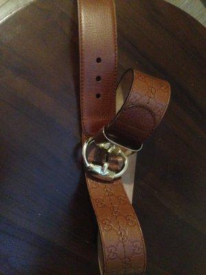 Gucci Belt brown-cognac-coloured leather